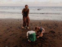 urlop na plaży