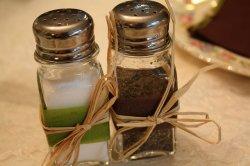 Przyprawniki do soli i pieprzu