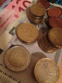 Różne nominały euro