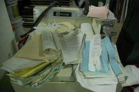 zbyt wiele dokumentów