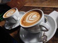 kawa, zastawa, filiżanka