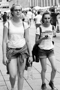 Kobiety na spacerze