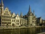 fototapeta - belgijskie uliczki