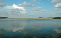 widok na jezioro mazurskie
