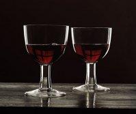 kieliszki, wino